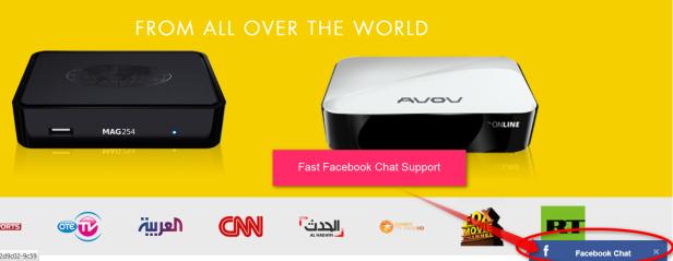 TVLuux - IPTV Channels Provider Service MAG 250 Device
